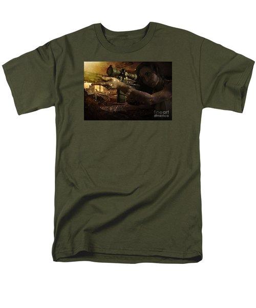 Scopped Men's T-Shirt  (Regular Fit) by David Bazabal Studios