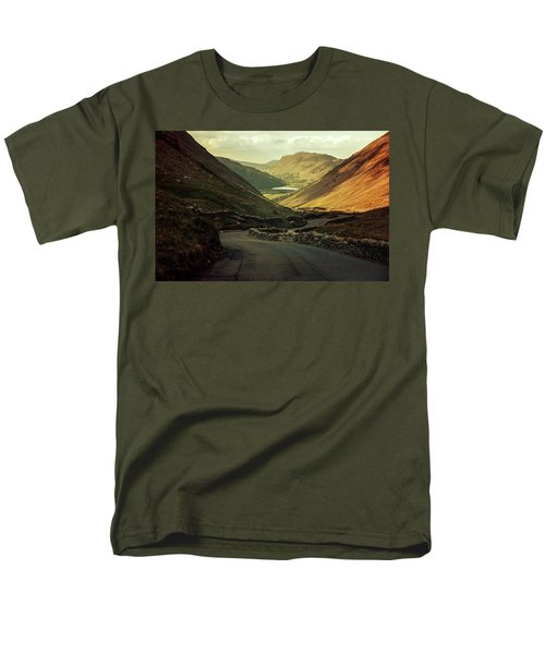 Scotland At The Sunset Men's T-Shirt  (Regular Fit) by Jaroslaw Blaminsky