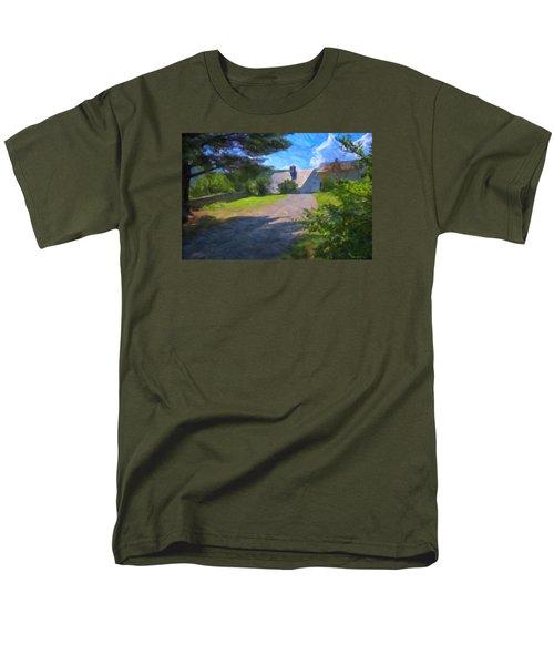 Men's T-Shirt  (Regular Fit) featuring the photograph Scott Farm Summer by Tom Singleton