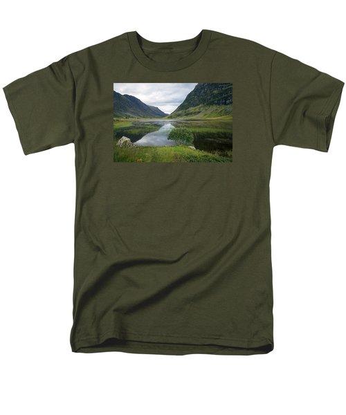 Scottish Tranquility Men's T-Shirt  (Regular Fit) by Dubi Roman