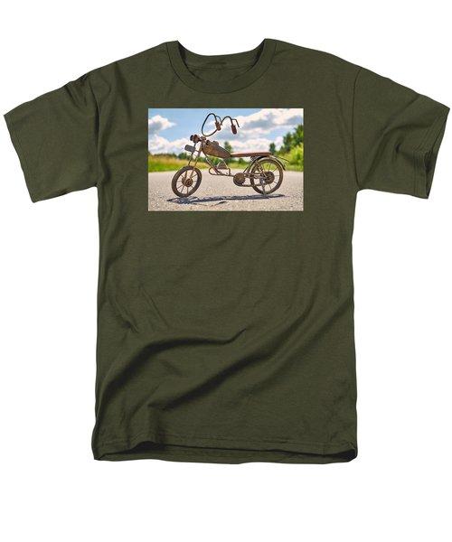 Scrawny Men's T-Shirt  (Regular Fit) by Tgchan