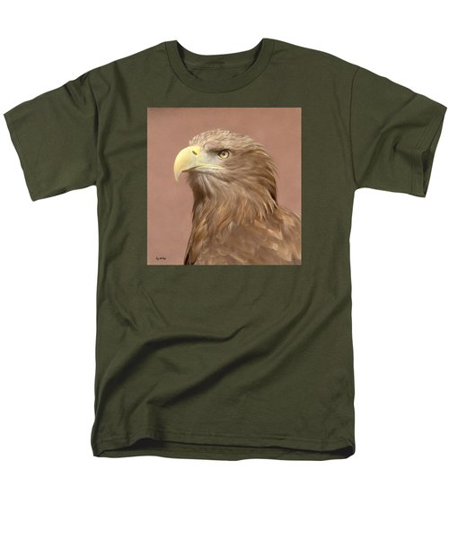 Men's T-Shirt  (Regular Fit) featuring the photograph Sea Eagle by Roy McPeak
