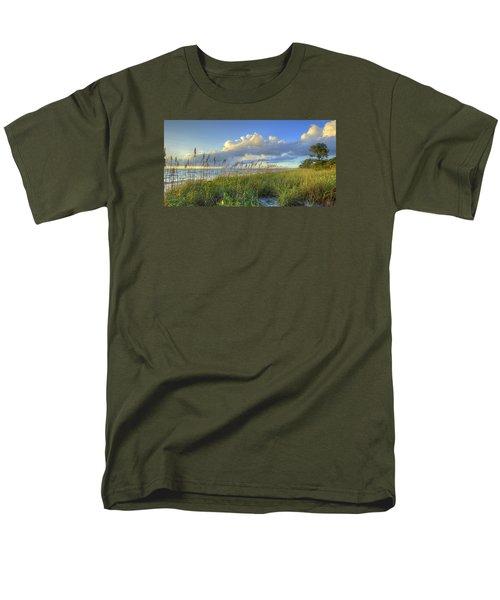 Sea Oats Men's T-Shirt  (Regular Fit) by Sean Allen
