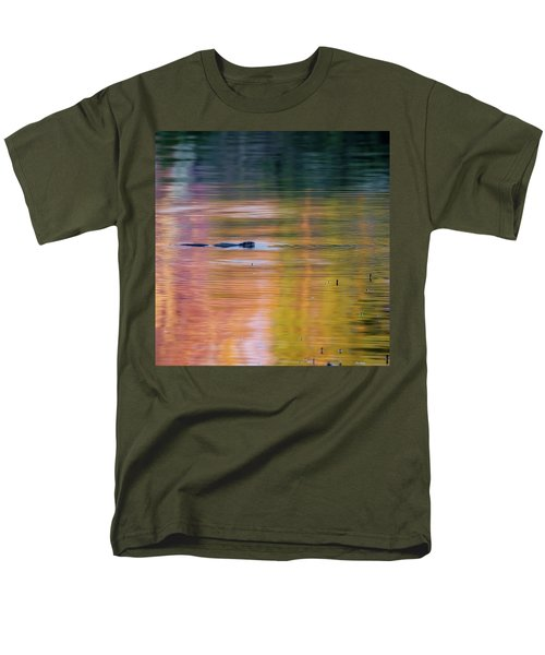 Men's T-Shirt  (Regular Fit) featuring the photograph Sea Of Color Square by Bill Wakeley