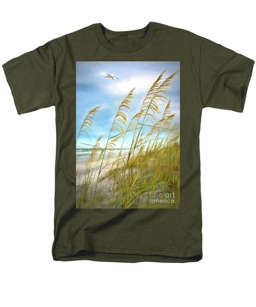 Seaoats Fantasy Men's T-Shirt  (Regular Fit) by Linda Olsen