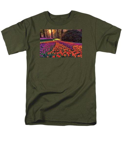 Secret Garden Men's T-Shirt  (Regular Fit) by Nadia Sanowar