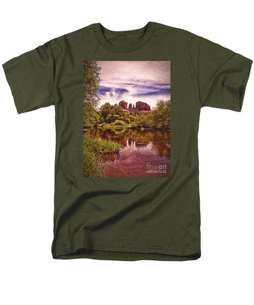 Men's T-Shirt  (Regular Fit) featuring the photograph Sedona, Arizona  by Chuck Caramella