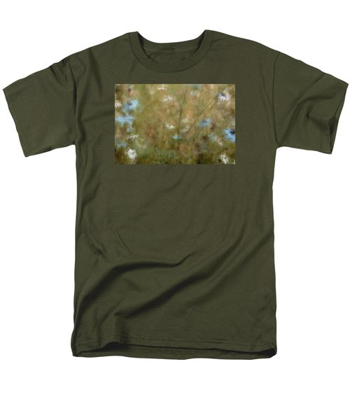 Seek Peace Men's T-Shirt  (Regular Fit) by The Art Of Marilyn Ridoutt-Greene