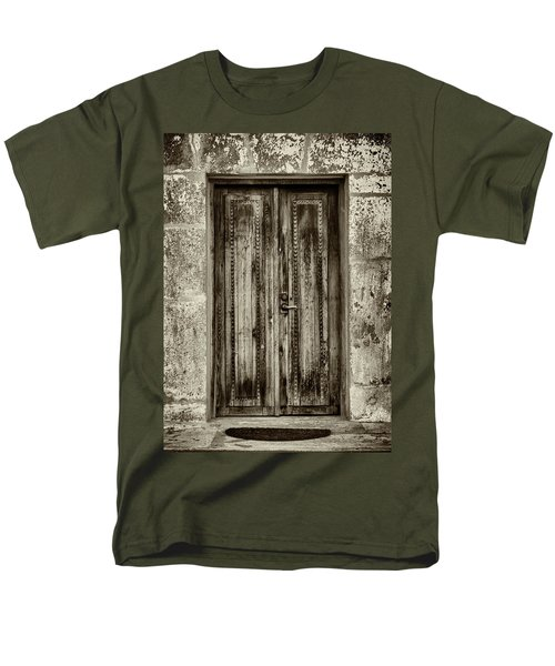 Men's T-Shirt  (Regular Fit) featuring the photograph Seeking Sanctuary - 2 by Stephen Stookey