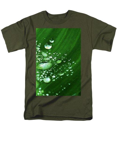 Growing Carefully Men's T-Shirt  (Regular Fit) by John Glass