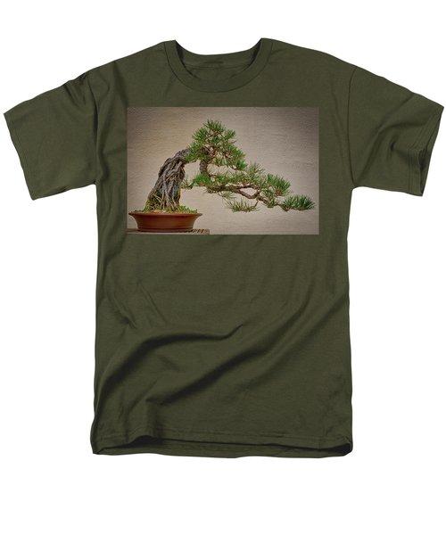 Semi-cascade Men's T-Shirt  (Regular Fit) by David Cote