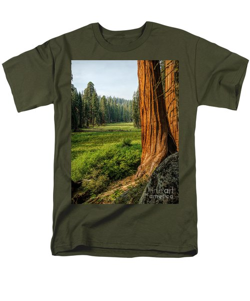 Sequoia Np Crescent Meadows Men's T-Shirt  (Regular Fit) by Daniel Heine