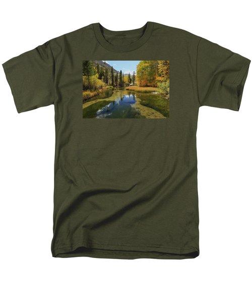 Serene Stream Men's T-Shirt  (Regular Fit) by Sean Sarsfield