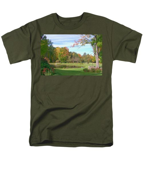 Men's T-Shirt  (Regular Fit) featuring the digital art Serenity by Barbara S Nickerson