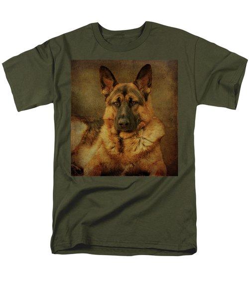 Serious Men's T-Shirt  (Regular Fit) by Sandy Keeton