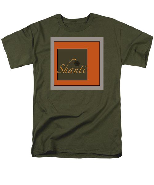 Shanti Men's T-Shirt  (Regular Fit) by Kandy Hurley