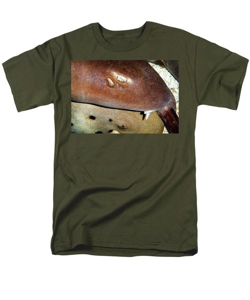 Men's T-Shirt  (Regular Fit) featuring the photograph Sharks by Anthony Jones