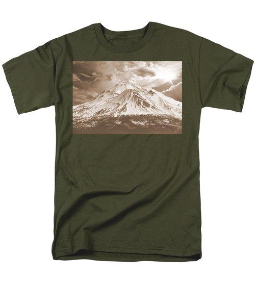 Shasta Mt Men's T-Shirt  (Regular Fit) by Athala Carole Bruckner