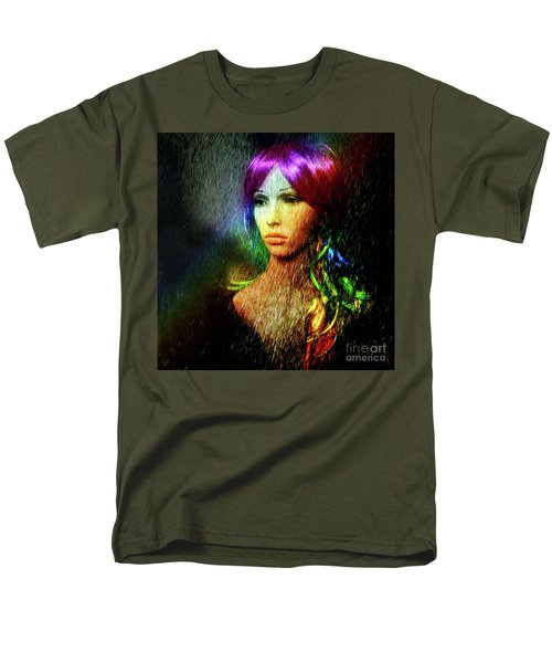 She's Like A Rainbow Men's T-Shirt  (Regular Fit) by LemonArt Photography
