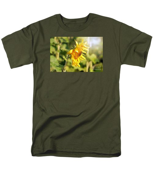 Men's T-Shirt  (Regular Fit) featuring the photograph Shining Sun by Lila Fisher-Wenzel