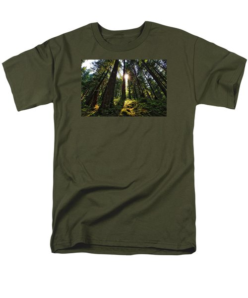 Men's T-Shirt  (Regular Fit) featuring the photograph Shining Through by Lynn Hopwood
