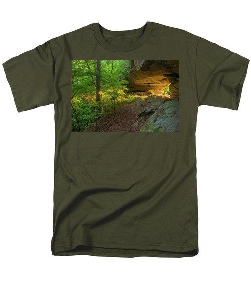 Shining Through.... Men's T-Shirt  (Regular Fit) by Ulrich Burkhalter