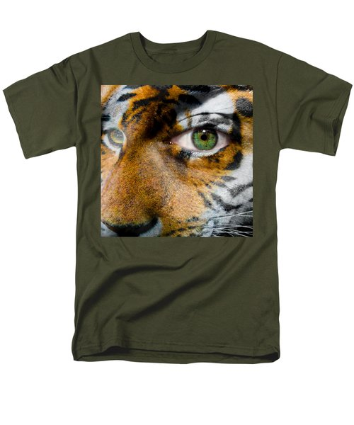 Siberian Man Men's T-Shirt  (Regular Fit) by Semmick Photo
