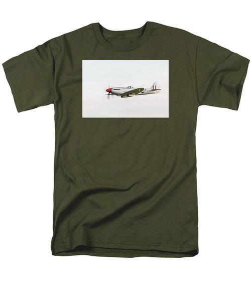 Silver Spitfire Fr Xviiie Men's T-Shirt  (Regular Fit) by Gary Eason