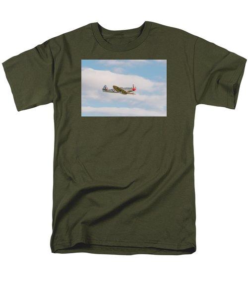 Silver Spitfire Men's T-Shirt  (Regular Fit) by Gary Eason