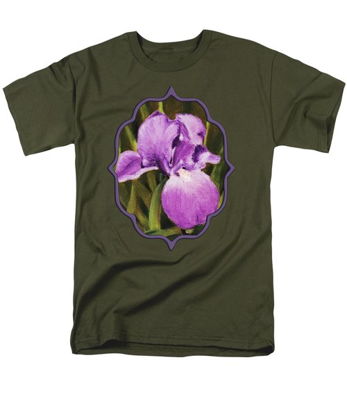 Single Iris Men's T-Shirt  (Regular Fit)