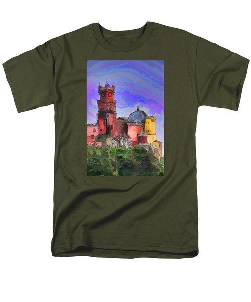 Sintra Palace Men's T-Shirt  (Regular Fit) by Dennis Cox WorldViews