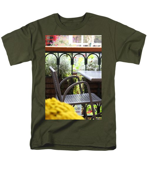 Men's T-Shirt  (Regular Fit) featuring the photograph Sit A While by Laddie Halupa