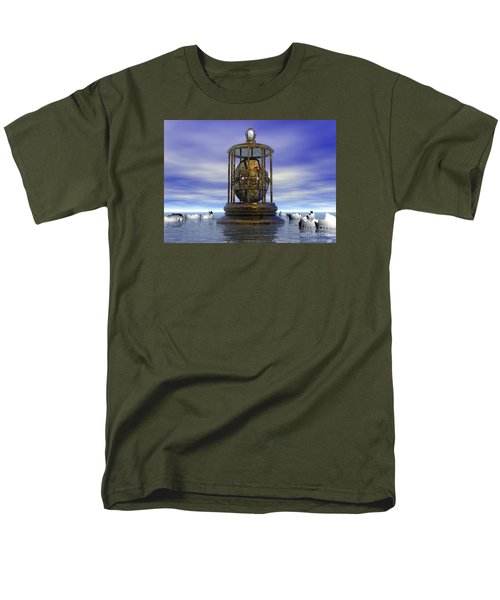 Men's T-Shirt  (Regular Fit) featuring the digital art Sixth Sense - Surrealism by Sipo Liimatainen