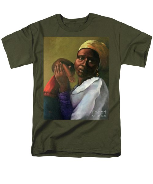 Men's T-Shirt  (Regular Fit) featuring the painting Slaughter Of The Innocents by Marlene Book