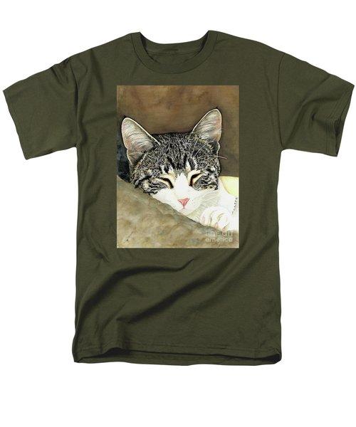 Sleeping Mia Men's T-Shirt  (Regular Fit) by Shari Nees