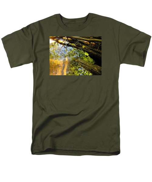 Men's T-Shirt  (Regular Fit) featuring the photograph Slow Creek by Adria Trail