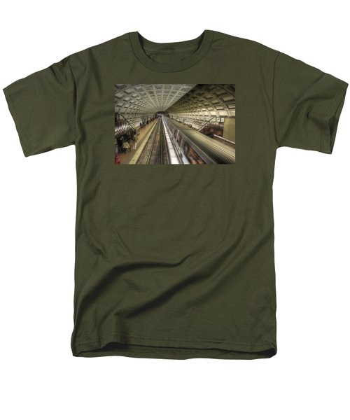Smithsonian Metro Station Men's T-Shirt  (Regular Fit) by Shelley Neff