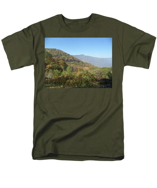 Smokies 11 Men's T-Shirt  (Regular Fit) by Val Oconnor