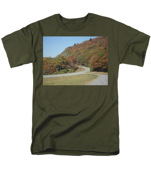 Smokies 9 Men's T-Shirt  (Regular Fit) by Val Oconnor