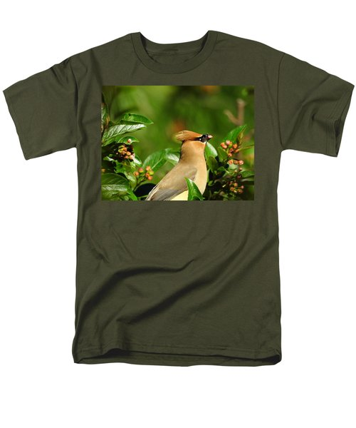 Men's T-Shirt  (Regular Fit) featuring the photograph Snacking by Betty-Anne McDonald