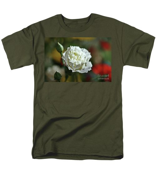 Men's T-Shirt  (Regular Fit) featuring the photograph Snow White by Stephen Mitchell