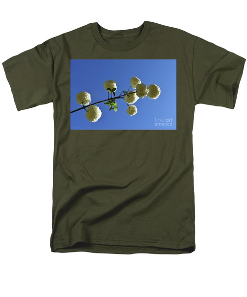 Men's T-Shirt  (Regular Fit) featuring the photograph Snowballs On A Stick by Skip Willits
