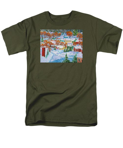 Snowed In Men's T-Shirt  (Regular Fit) by Mike Caitham