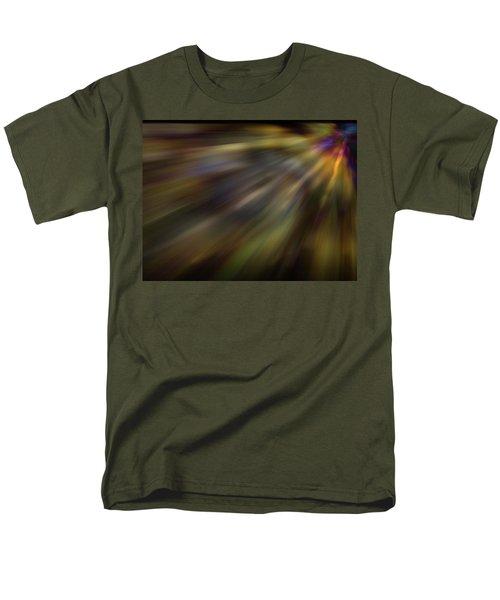 Soft Amber Blur Men's T-Shirt  (Regular Fit) by Carol Crisafi