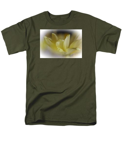 Men's T-Shirt  (Regular Fit) featuring the photograph Soft Yellow by Yumi Johnson