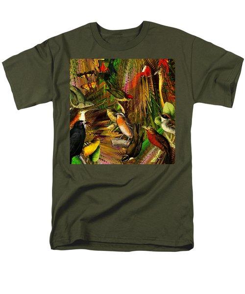 Solar Birds Of Paris Men's T-Shirt  (Regular Fit) by Joseph Mosley