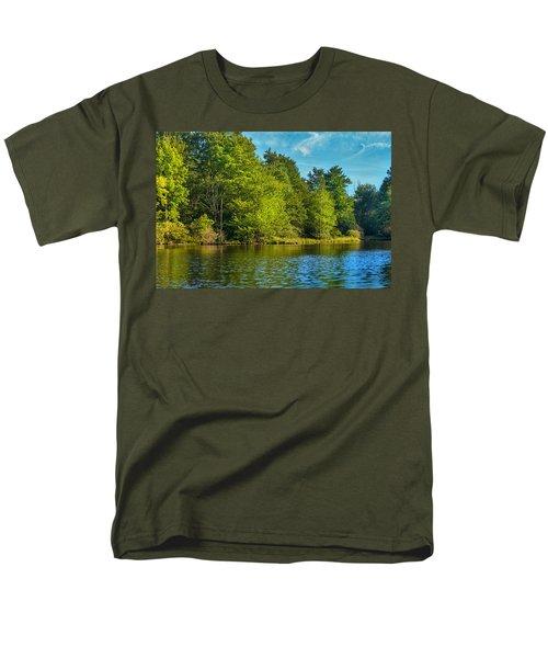 Solitude  Men's T-Shirt  (Regular Fit) by Swank Photography