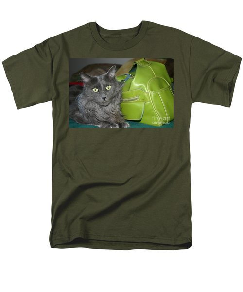 Someone Say Green? Men's T-Shirt  (Regular Fit) by Marie Neder