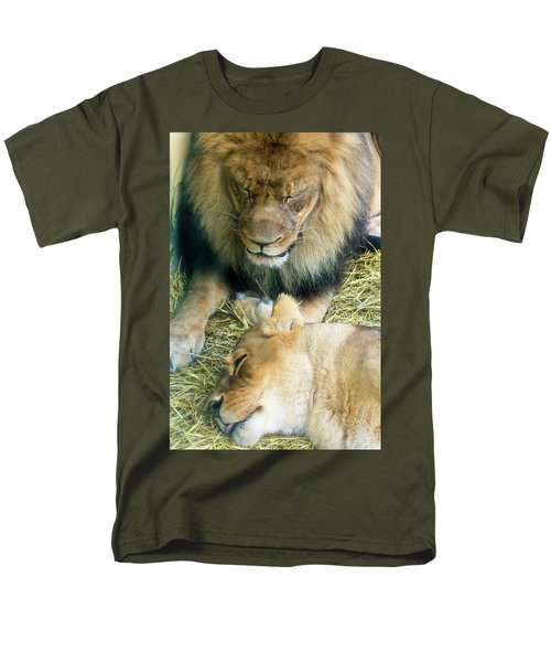 Someone To Watch Over Me Men's T-Shirt  (Regular Fit) by David Stasiak