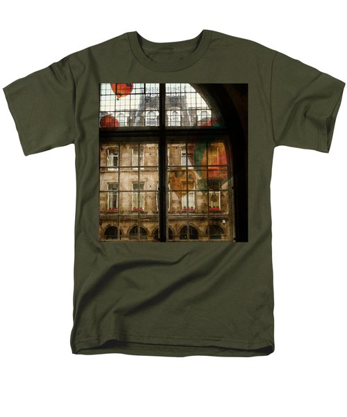 Men's T-Shirt  (Regular Fit) featuring the photograph Something In The Air by Paul Lovering